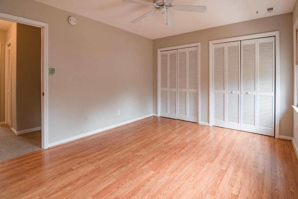 empty room in house